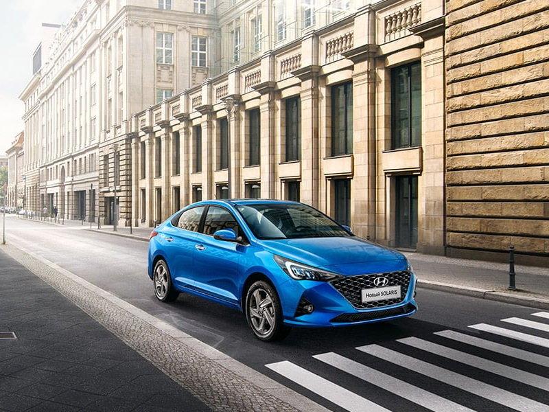 Hyundai Solaris 6 2020